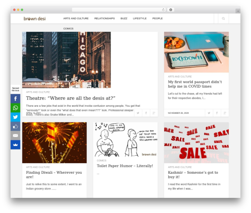 Template WordPress Enpine - thebrowndesi.com