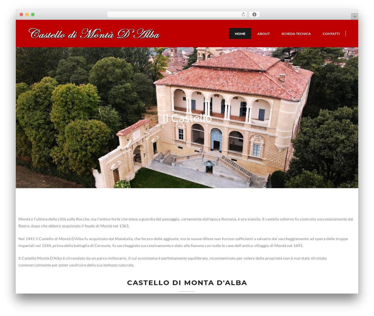 The Ocean WP template - castellomontadalba.com