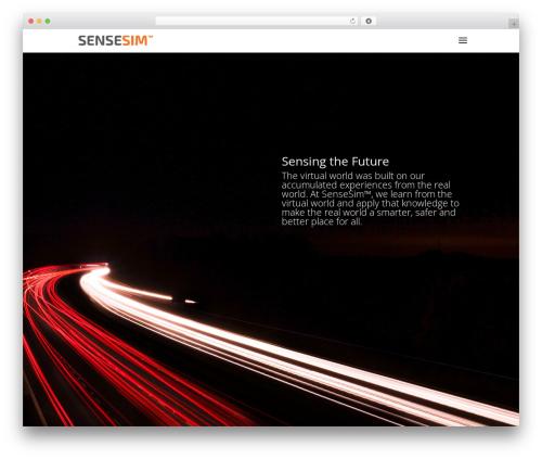 Theme WordPress Divi - sensesim.com