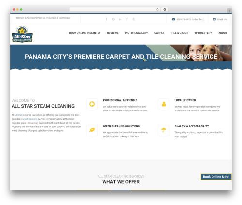 Theme WordPress WP Maxclean - allstarsteamcleaning.com