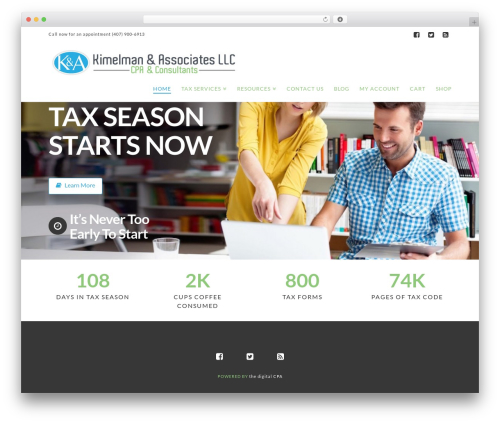 X WordPress theme - kimelmancpa.com