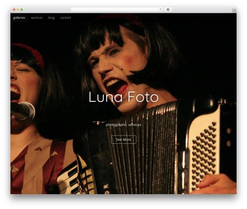 Arcade Basic theme WordPress - lunafoto.com