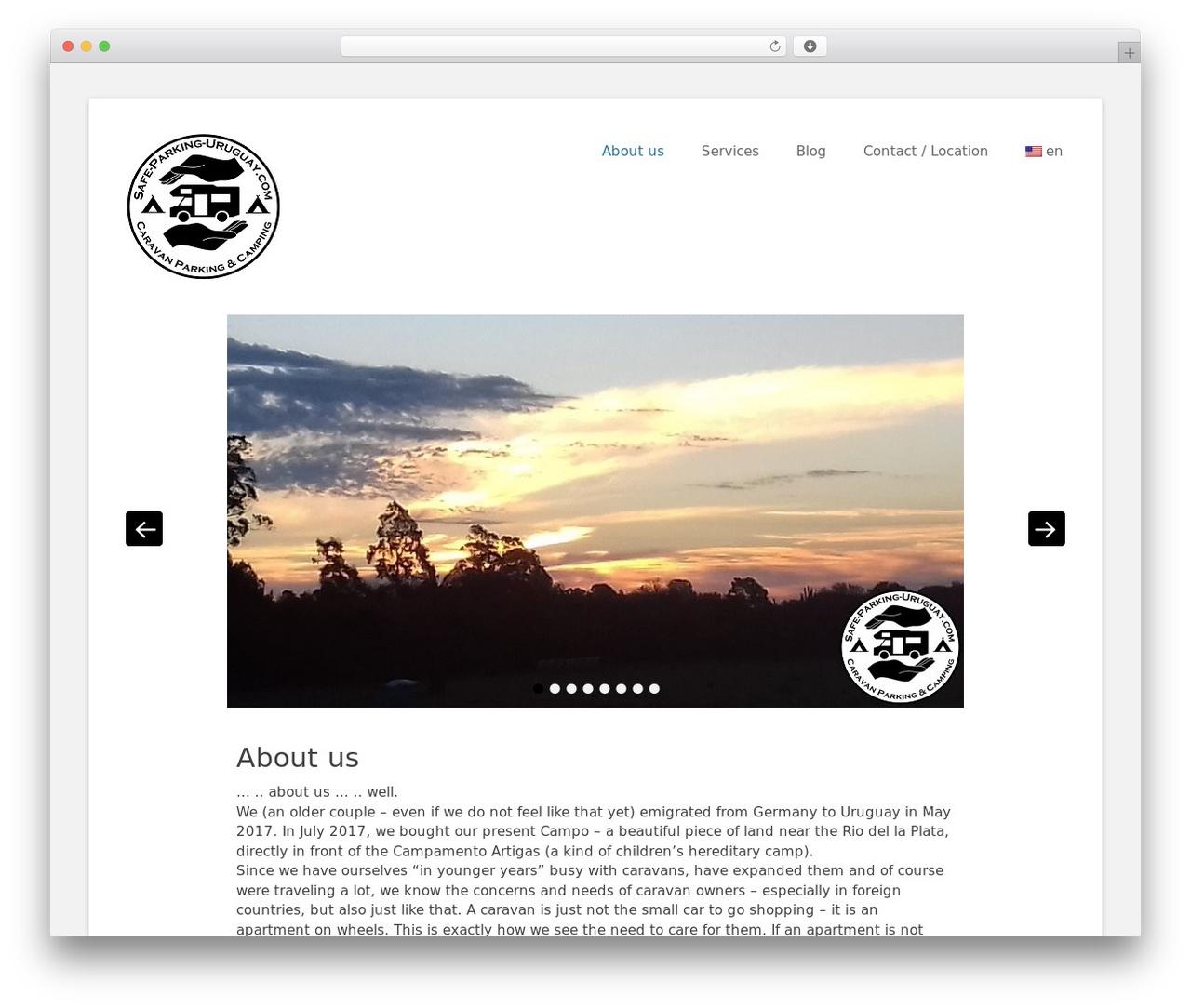 Catch Base Pro WordPress theme - safe-parking-uruguay.com