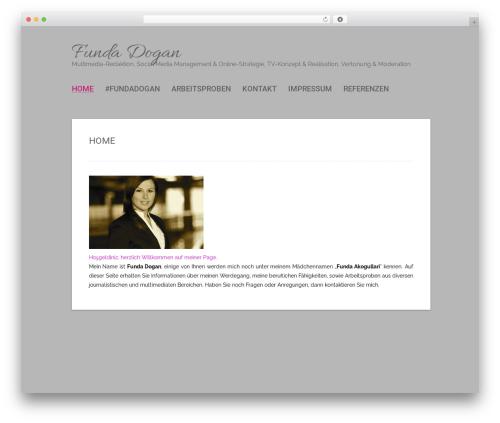 Polar Lite WordPress template free - fundadogan.com