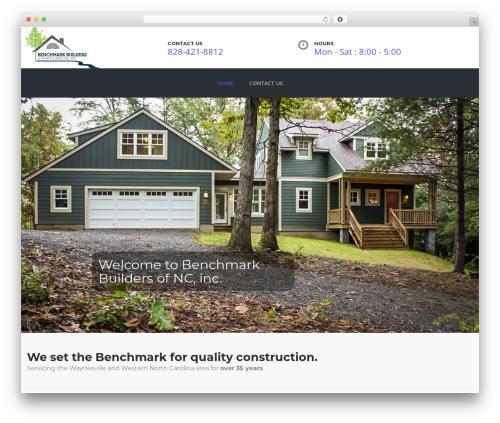 Theme WordPress TheBuilt - benchmarkwnc.com