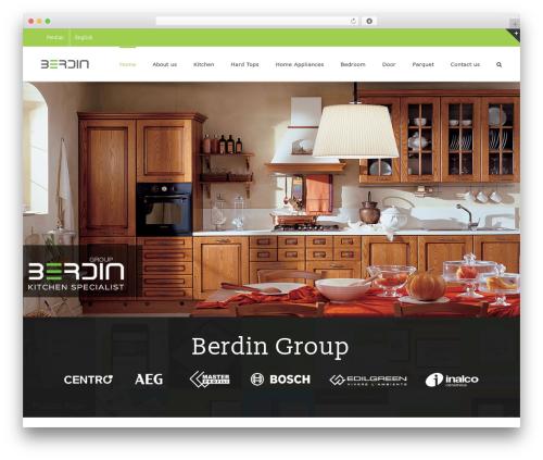 WordPress theme Avada By Pro Style Team - berdinco.com