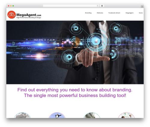 Best WordPress theme cherry - megaagentdesign.com