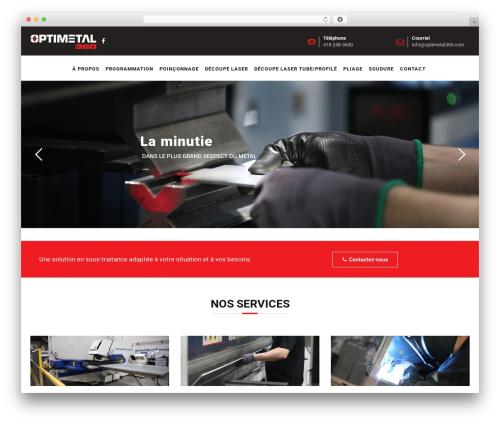 Pikocon best WordPress template - optimetal360.com