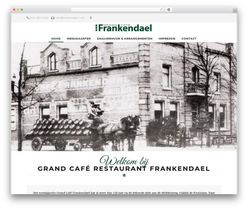 Risotto best restaurant WordPress theme - frankendael.com