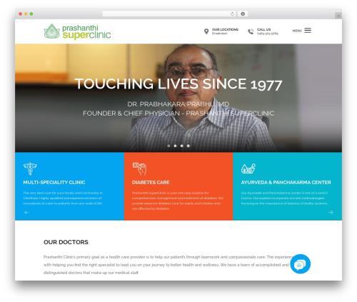 Template WordPress Clinic - prashanthiclinics.com