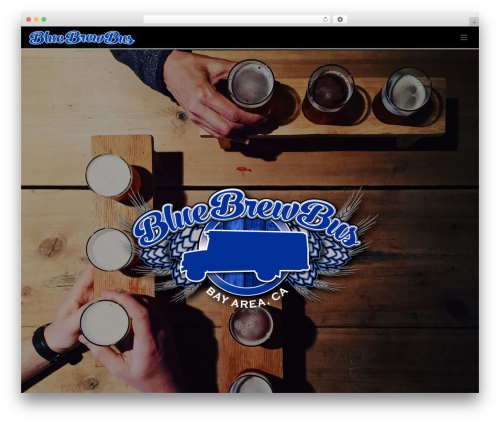 Theme WordPress Jupiter - bluebrewbus.com