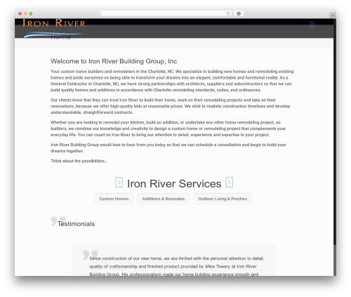 Betheme best WordPress theme - ironriverproperties.com