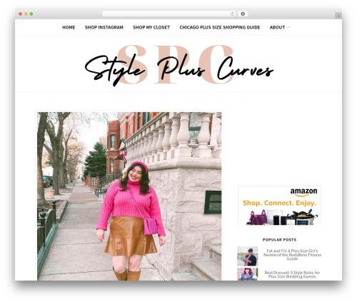 Blogger-Gbthemes WordPress travel theme - stylepluscurves.com