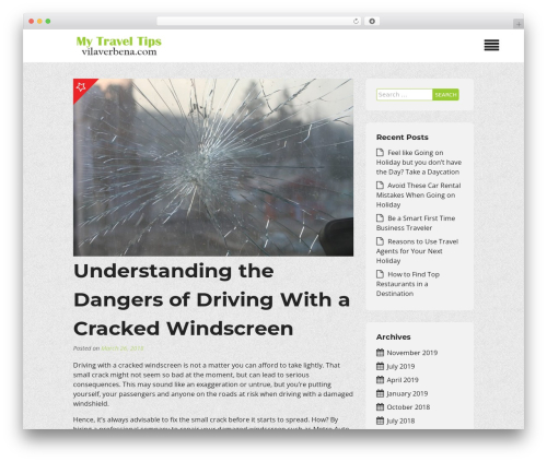 Insurance Now best free WordPress theme - vilaverbena.com