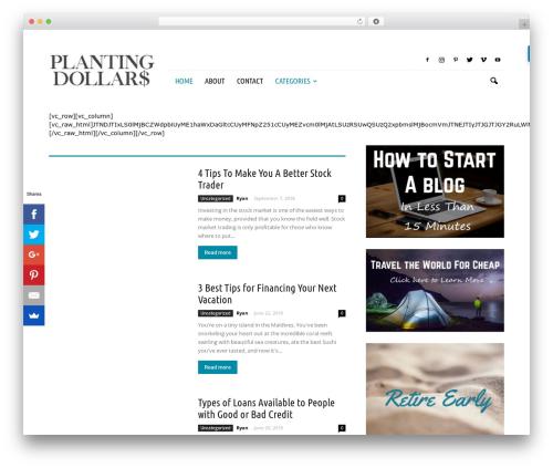 Newspaper WordPress news theme - plantingdollars.com