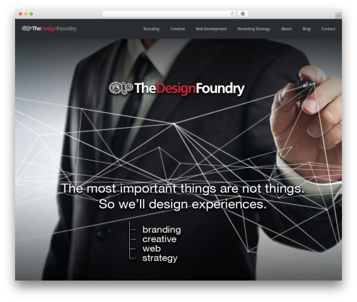 Palas WordPress template for business - thedesignfoundry.com