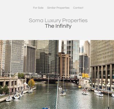 Soma Luxury Properties - Infinity SF best WordPress theme