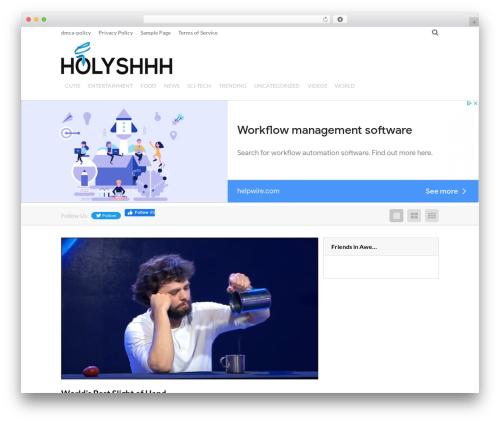 Viral by MyThemeShop WordPress shopping theme - holyshhh.com