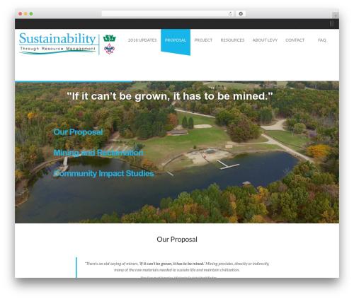 WordPress theme Desirable - mlpa-michigan.com