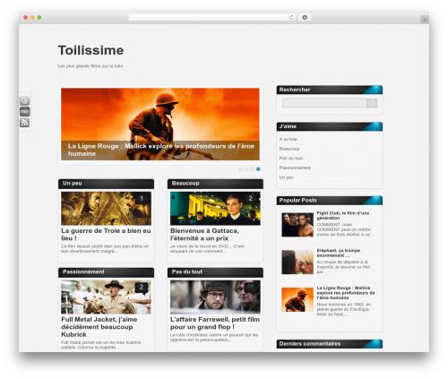 Amphion Lite WordPress theme - toilissime.com