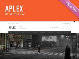 APLEX company WordPress theme