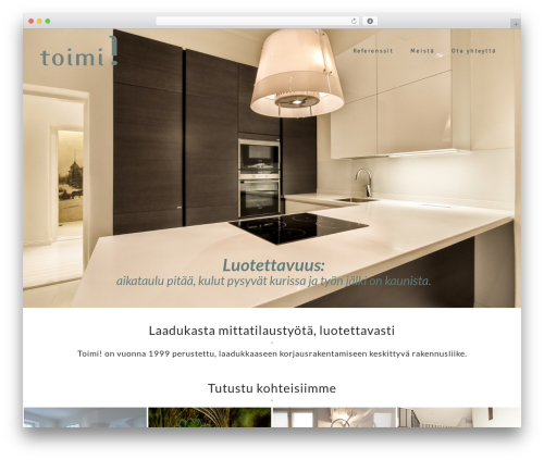 Astrid free website theme - toimi.fi