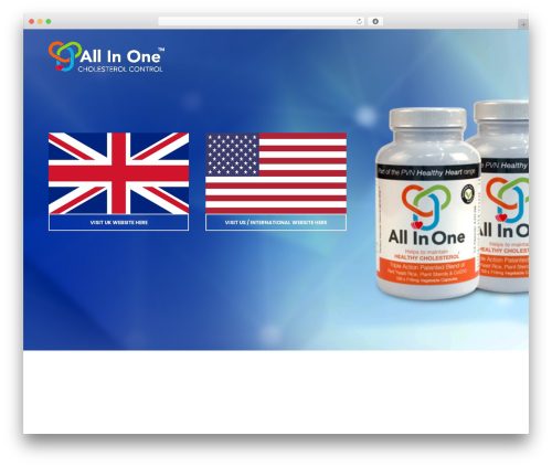 Best WordPress theme Shopscape - allinonecholesterol.com