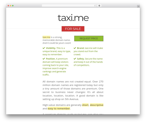 Free WordPress Plugin Name:       Responsive Video Shortcodes plugin - taxi.me