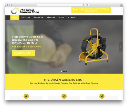 Enfold WordPress ecommerce template - thedraincamerashop.com