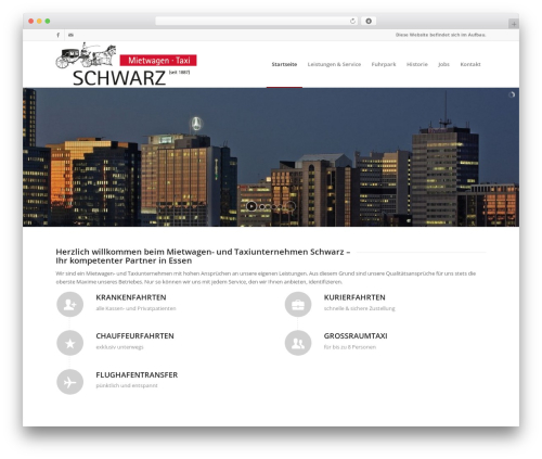 Enfold WordPress theme - taxi-schwarz.de