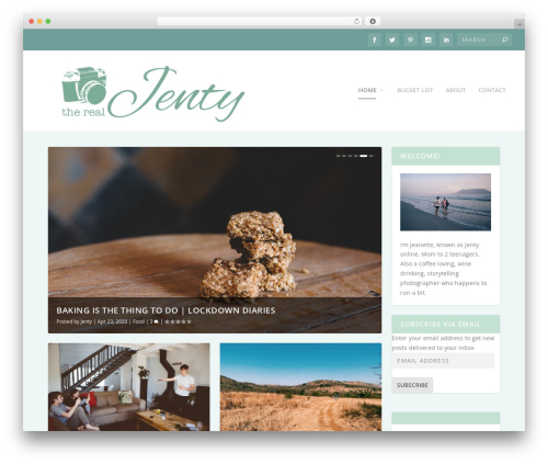 WordPress my-pinterest-badge plugin - therealjenty.com