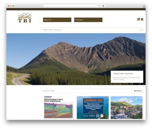 Hati theme WordPress - tbi.ca