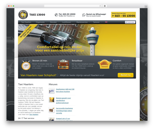 WordPress styles-with-shortcodes plugin - taxi13000.nl