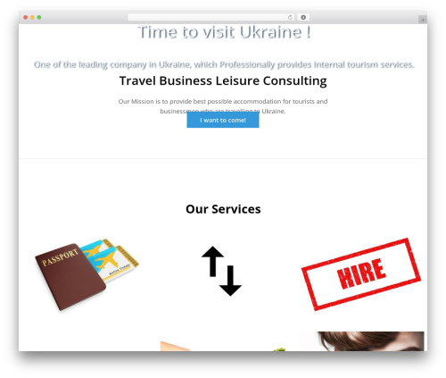 One Paze free WordPress theme - tbl-ua.com