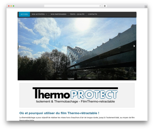 Planet Foundation best free WordPress theme - thermoprotect.fr