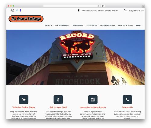 Seguente WordPress ecommerce theme - therecordexchange.com