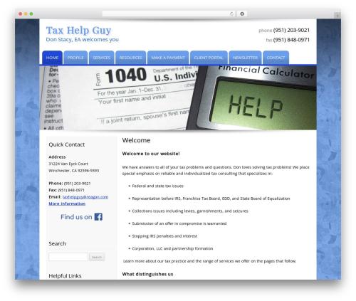 Template WordPress Customized - taxhelpguy.com