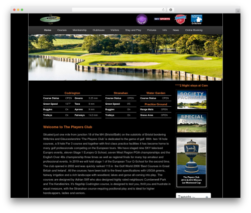 WordPress new-royalslider plugin - theplayersgolfclub.com