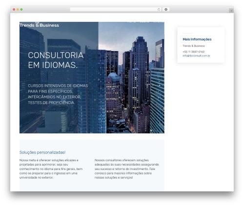 Theme WordPress Economist - tbiconsult.com.br