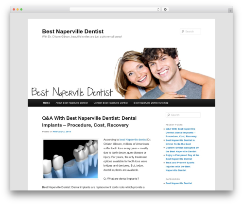 Twenty Eleven WordPress template free download - thebestnapervilledentist.net