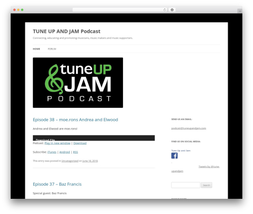Free WordPress PowerPress Podcasting plugin by Blubrry