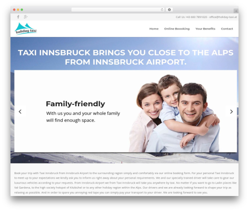 Free WordPress Advanced iFrame plugin - taxi-innsbruck24.com