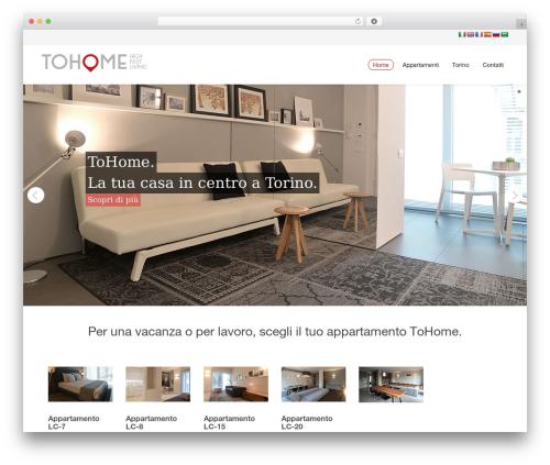 WordPress template Novus - tohome.it