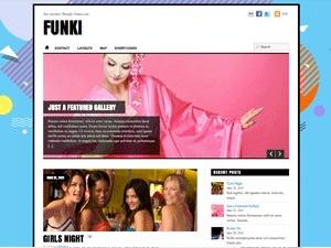 WordPress theme funki Child