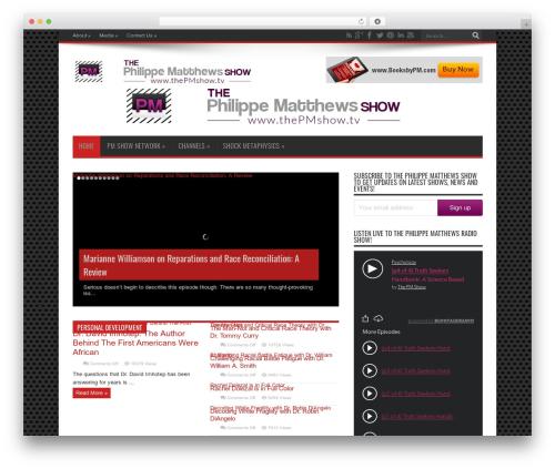 WordPress theme Jarida - thepmshow.mobi