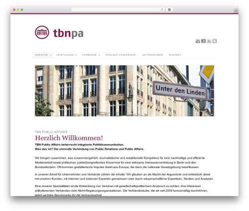 WordPress theme PlatformPro - tbnpa.de