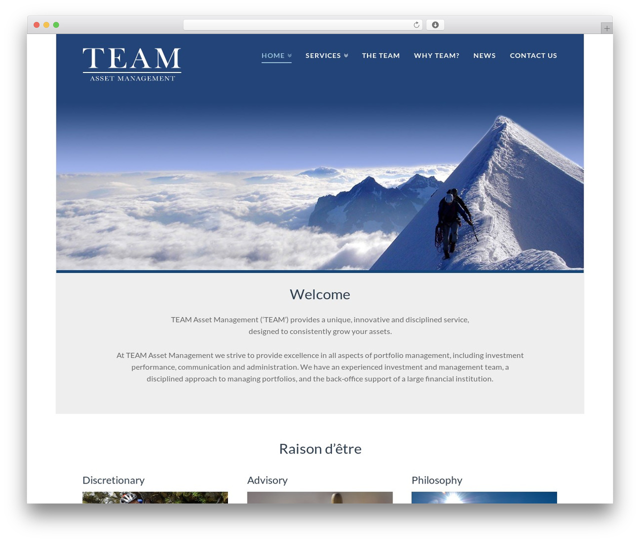 X top WordPress theme - teamassetmanagement.com