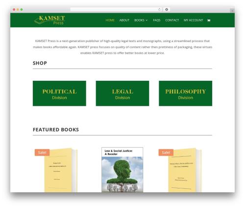 Divi WordPress template - kamsetpress.com