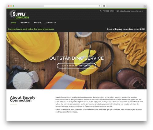 Enhenyerowp company WordPress theme - supply-connection.com