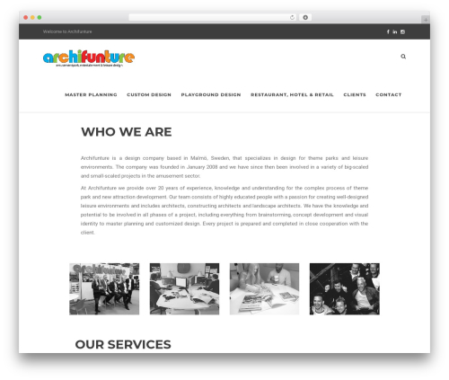 Theme WordPress Artcore - archifunture.com